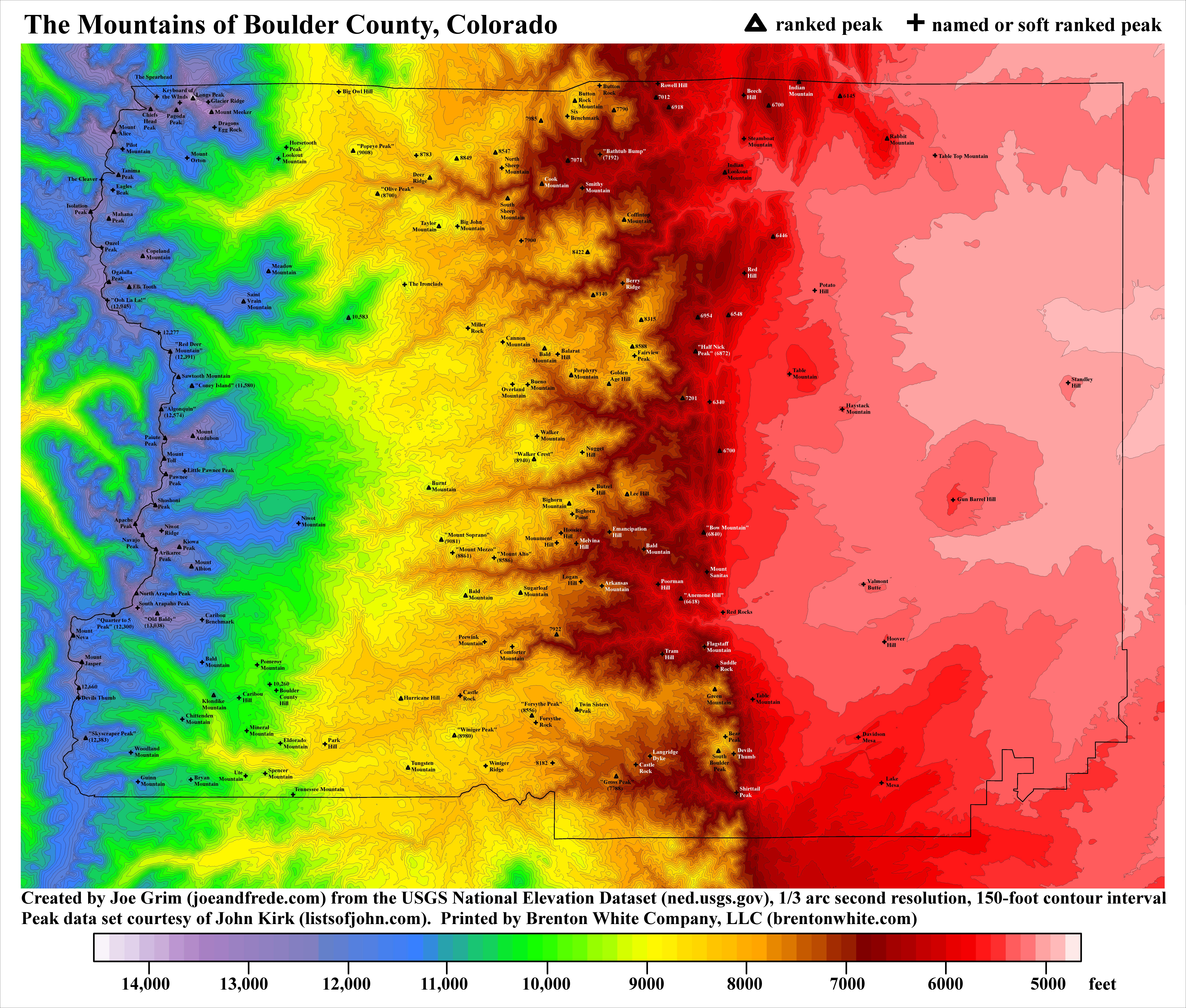 Colorado Topographic Maps